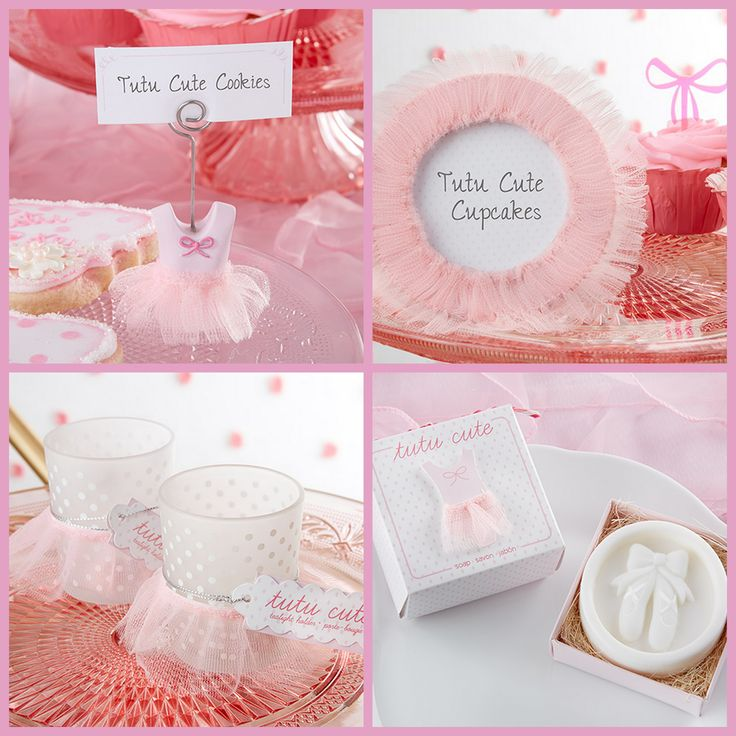 Tutu Cute Baby Shower or Birthday for A Pink Girl from HotRef.com