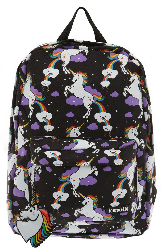 Loungefly Unicorn Cloud Backpack. Sme one in my school has