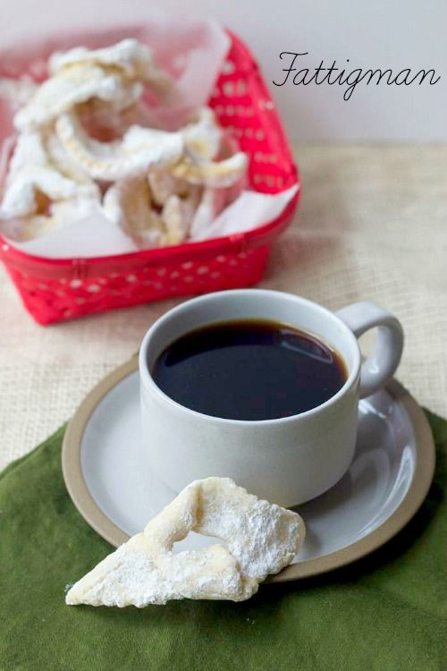 """Fattigman, """"poor man's cookies"""", are a traditional Scandinavian holiday cookie."""