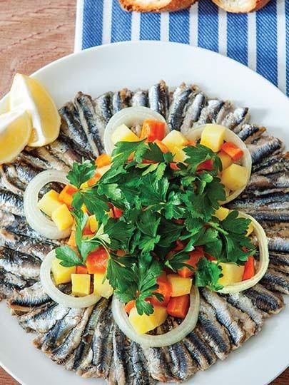 Sebzeli hamsi Tarifi - Türk Mutfağı Yemekleri - Yemek Tarifleri