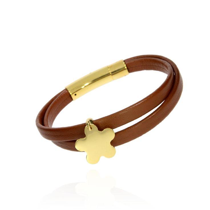 BRA 0037 - Brązowy - Aleksandra Strippentow Biżuteria Handmade