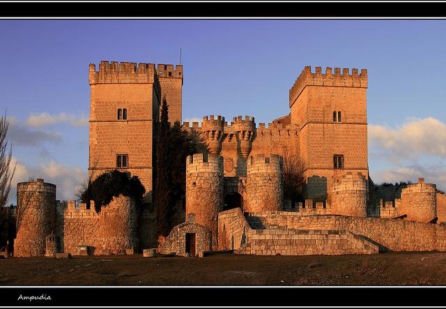 Castillo de Ampudia, Palencia Province