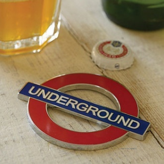 London Underground Bottle Opener