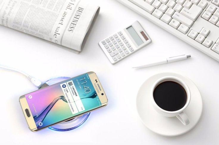 UGPine Qi Wireless UFO Samsung Charging Charger Fast Galaxy Pad S7 Edge Stand S6 | eBay