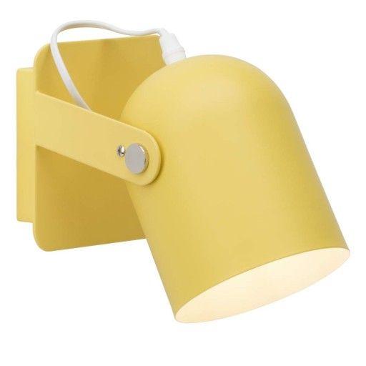 Brilliant Yan 98982/02 wandlamp geel