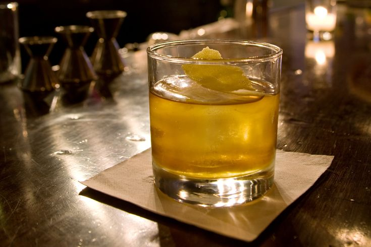 NYT Cooking: Rye Old-Fashioned