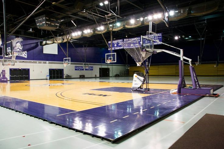 Though at first glance McCownGym is simply a court for