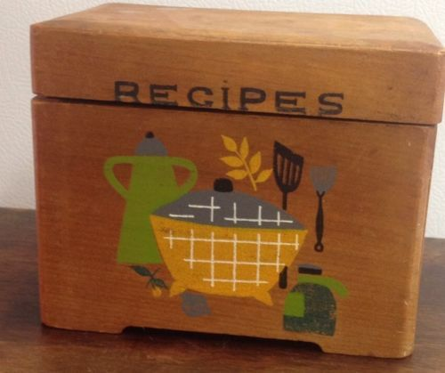 Decorative Recipe Boxes Simple 12 Best Recipe Boxes Images On Pinterest  Recipe Box Boxes And Inspiration