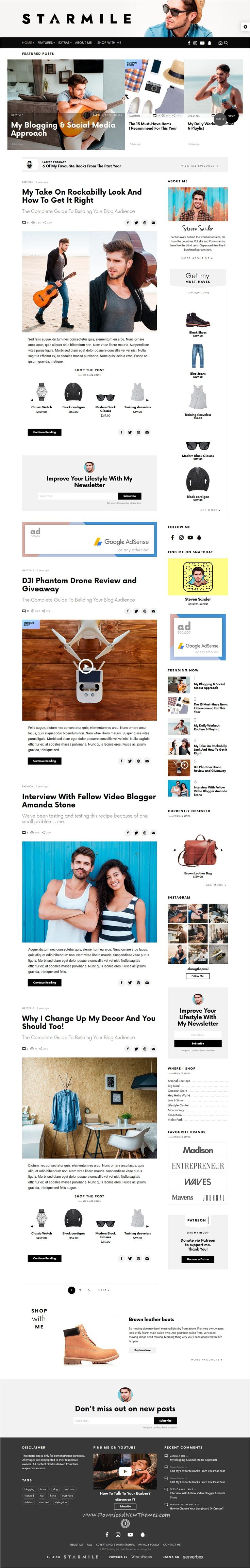 AeroMag - News & Magazine Responsive Blogger Template