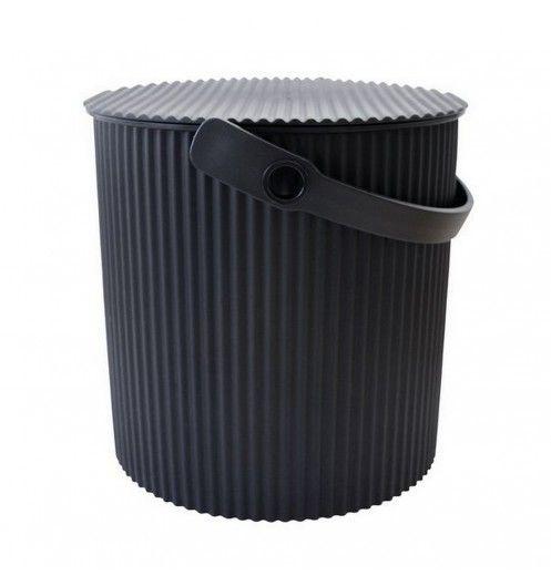 pot noir multiusage pour jardin chambre denfant ou tabouret http - Poubelle Salle De Bain Noir