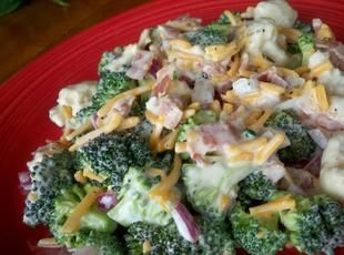 Brokkoli- und Blumenkohlsalat   – Salads