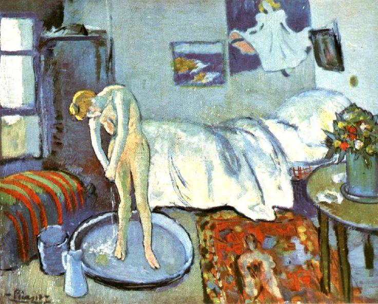 Picasso | The Blue Room | Das blaue Zimmer | 1901 - the blue periods | die blaue Periode