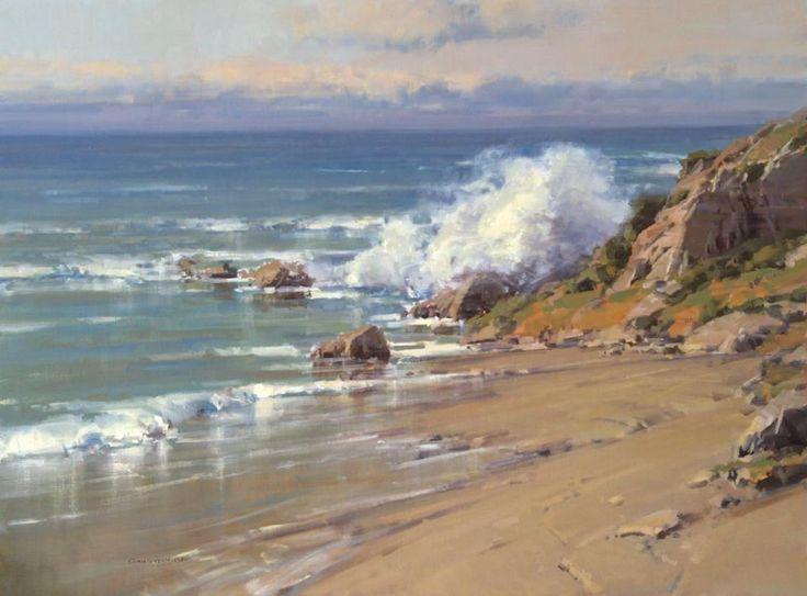 Scott L. Christensen ~ 1 O'Clock Light (20 x 30)