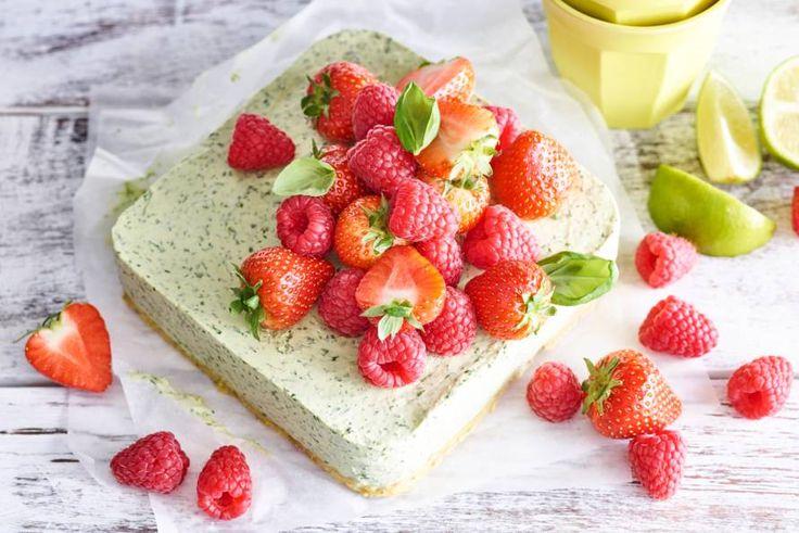 No-bake cheesecake is lekker fris en dus een echte zomertraktatie.- Recept - Allerhande