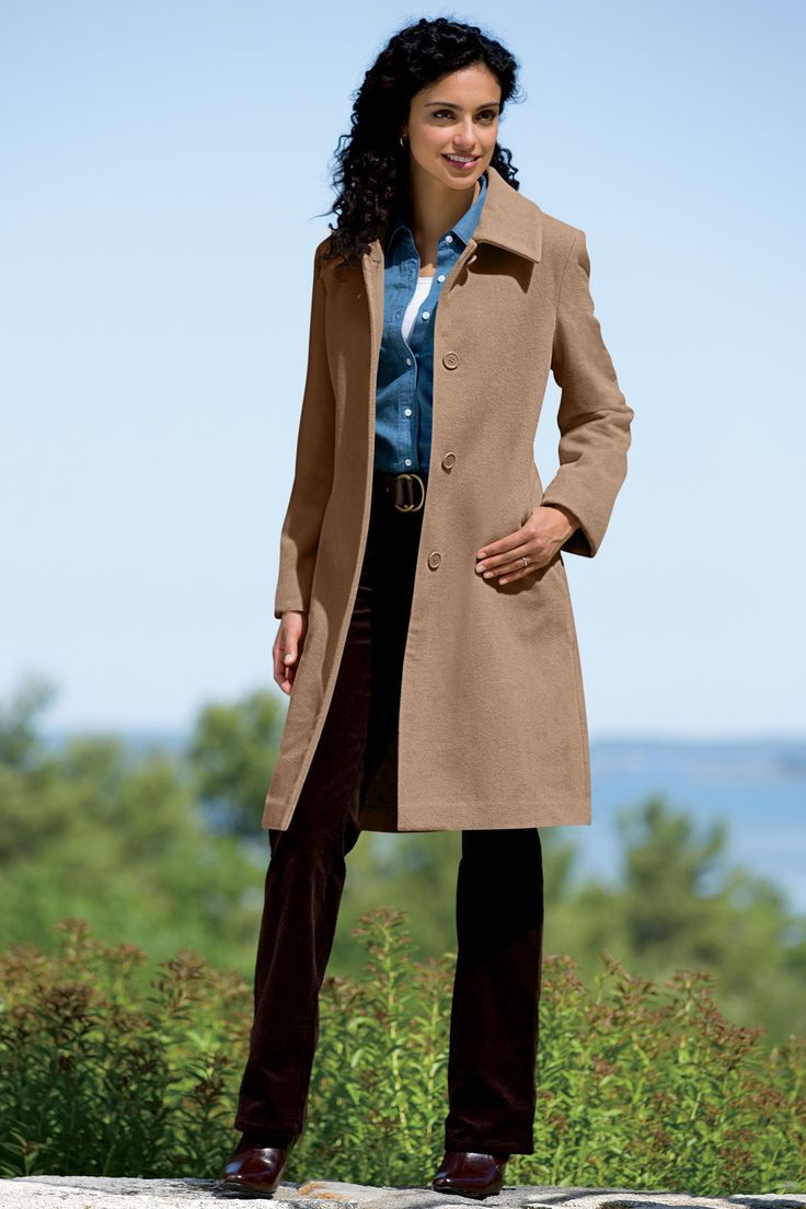 31 best Long Wool Coats images on Pinterest
