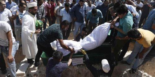 Niño suicida detona bomba en boda turca y mata a 51 personas -...