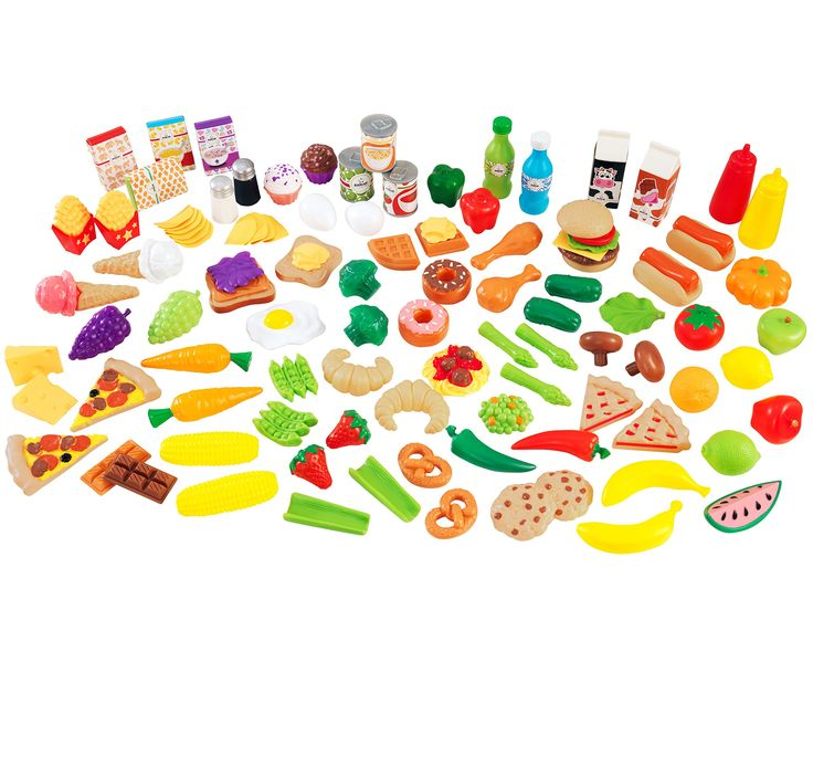 Amazon.com: KidKraft Tasty Treats Play Food Set: Toys & Games