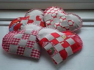 A Norwegian Christmas Heart... I used to make these as a youngin'.  Good memories :)
