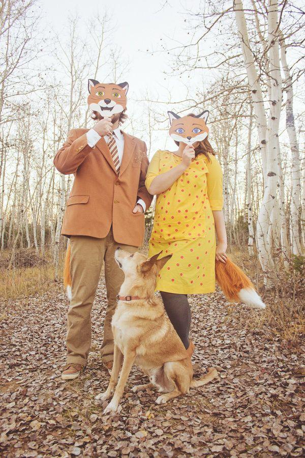 Fantastic Mr. Fox costume.