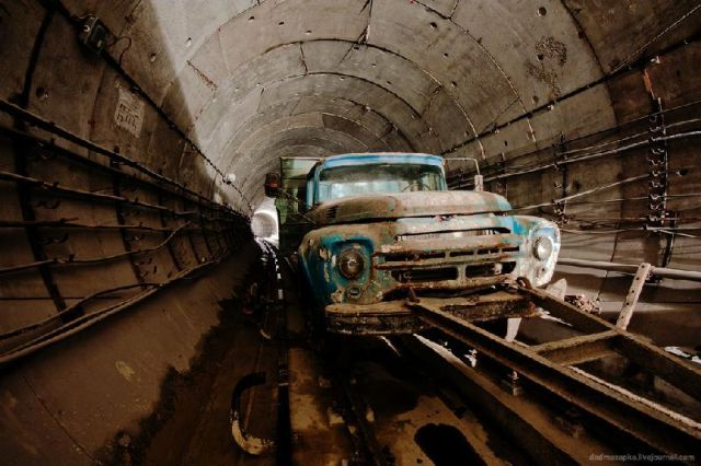 Urban Explorers Document Kiev Metro Like You've Never Seen it Before