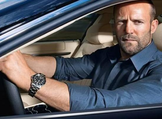Jason statham wears a rolex oyster perpetual submariner watch celebrity watches pinterest for Celebrity wearing panerai