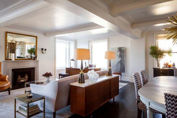 Uptown Address - Home Tour: Madison Avenue Apartment by Jennifer Vaughn Miller - Lonny