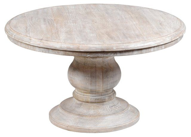Burbank round coffee table whitewash family room pinterest round coffee tables whitewash Whitewash coffee table