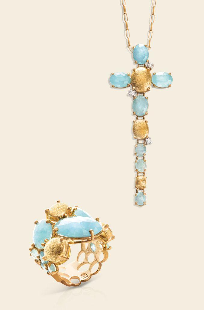 Ipanema - gioielli in oro 18kt con diamanti e pietre naturali - NANIS