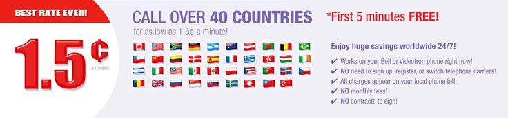 Appels internationaux au Brésil & en Franceet partout en Afrique et en Europe. Avec ce service, on peut appeler par carte tel en Italie et dans plusieurs autres pays. Forfait téléphonique 101010 et 1010 afin de pouvoir faire un appel longue distance.