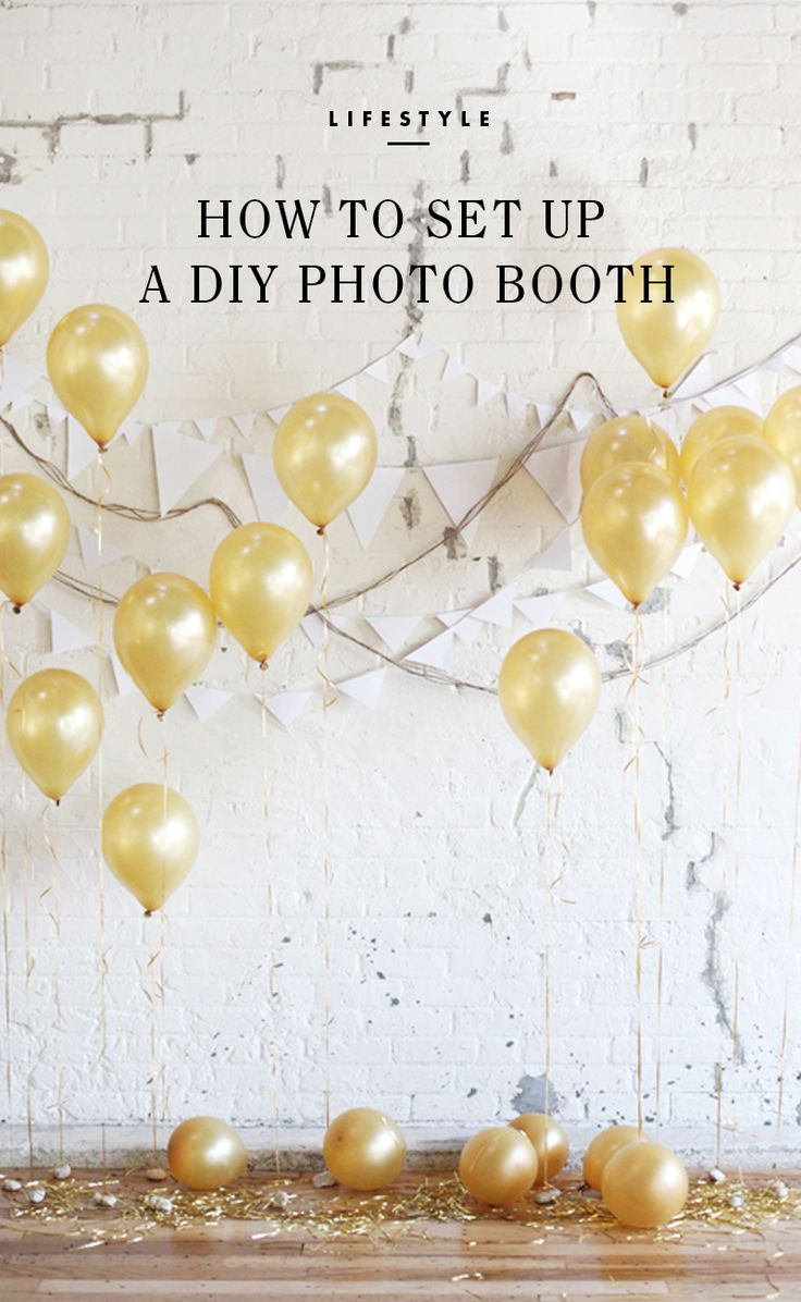 Setting up a DIY Photo Booth for any occasion! / eBay #spon
