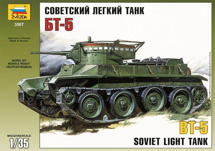 Maquette - Kit Soviet Light Tank BT-5