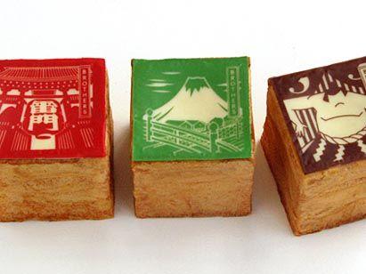 JAPANESE STYLE CREAM PUFF : CUBE CHOU CREAM TOKYO / PATISSERIEBROTHERS