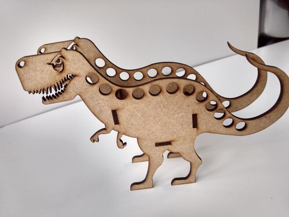 T-rex Porta-lápis