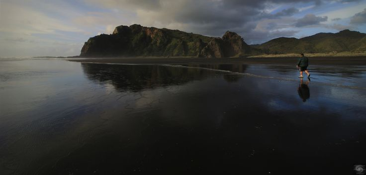 https://flic.kr/p/N9JkM8 | Enjoy_the_Silence ll (Explored) | Karekare Beach is special.   Today it is a year since Jonah Lomu passed away, and his personal story and documentary starts and ends at this famous beach.  His contribution to world rugby and the community will always be remembered.