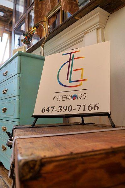 tlginteriors.com  Tiffany inspired dresser and reclaimed wood trunk 2014
