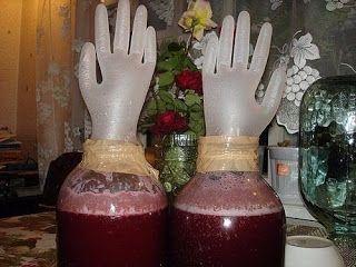 БЛОГ ПОЛЕЗНОСТЕЙ: Домашнее вино из... старого никому не нужного варенья!