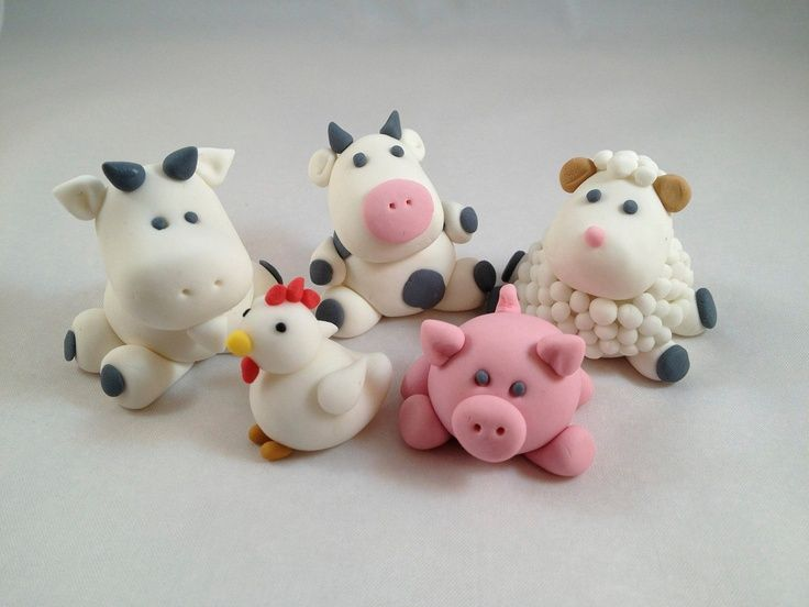 Farm Animal Polymer Clay - Bing Images
