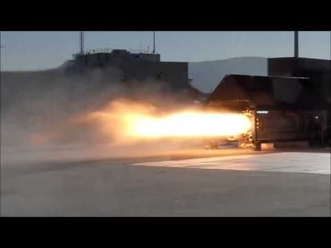 NASA Ames Tests Peregrine Hybrid Sounding Rocket Motor - YouTube