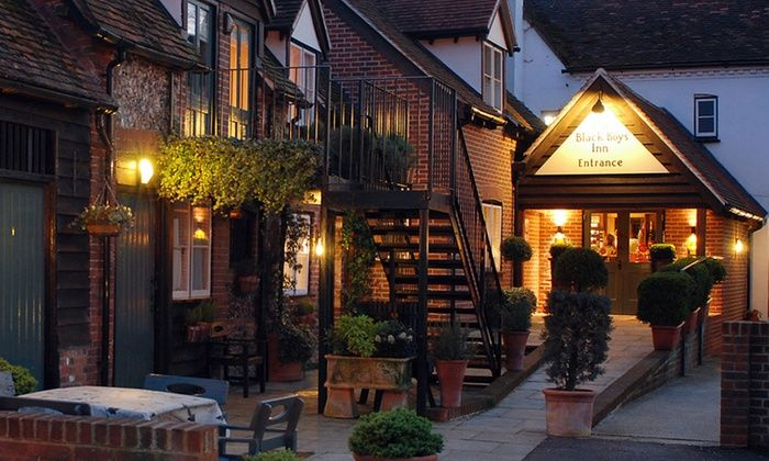 Black Boys Inn - Hurley: Three-Course Meal with a Glass or Unlimited Prosecco for Two or Four at Black Boys Inn (50% Off*)