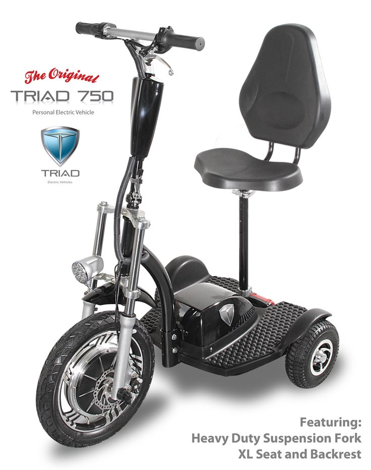 32 best electric scooters for adults triad 750 mobility trike images on pinterest electric. Black Bedroom Furniture Sets. Home Design Ideas