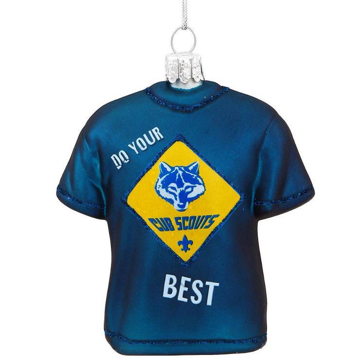 Cub Scout T-Shirt Glass Ornament $11.99