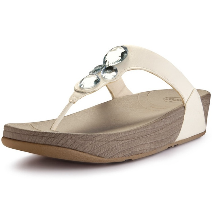 BeautyFeatures.ie - FitFlop - Lunetta - White, €85.00 (http://www.beautyfeatures.ie/fitflop-lunetta-white/)