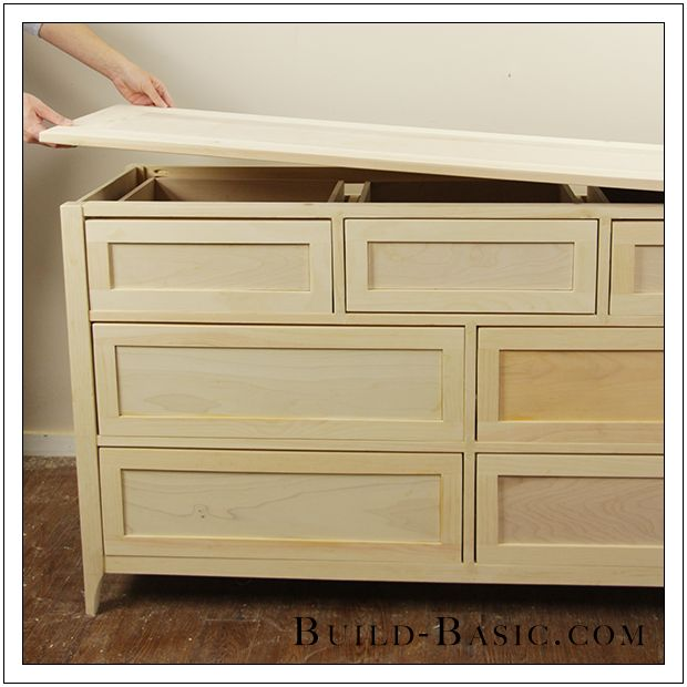 Build A Diy 7 Drawer Dresser By Build Basic Step 30 Diy