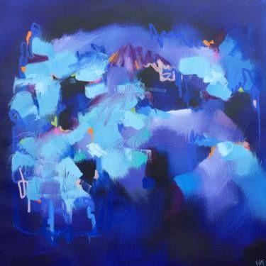 "Saatchi Art Artist Catherine Hiller; Painting, ""Danse de Nuit"" #art"