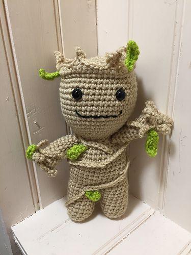 Toddler groot crochet pattern