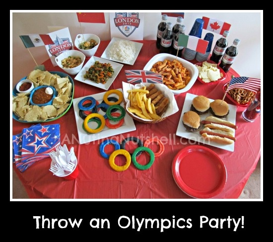 Olympic Themed Party! Cute Food Ideas. Perfect For