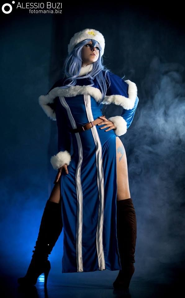Juvia Loxar from Fairy Tail (Tartaros Version)  cosplay by Seshiria Sandy Cosplay photo by Fotomania #Fairytail #JuviaLoxarcosplay #cosplayclass #cosplaygirl