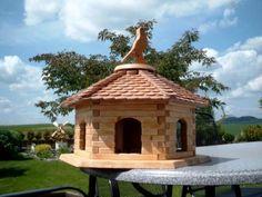 Große Sechseck Vogel-Haus-Villa - #OBI Selbstgemacht! Blog. Selbstbauanleitung für jedermann. #DIY #Vogelhaus
