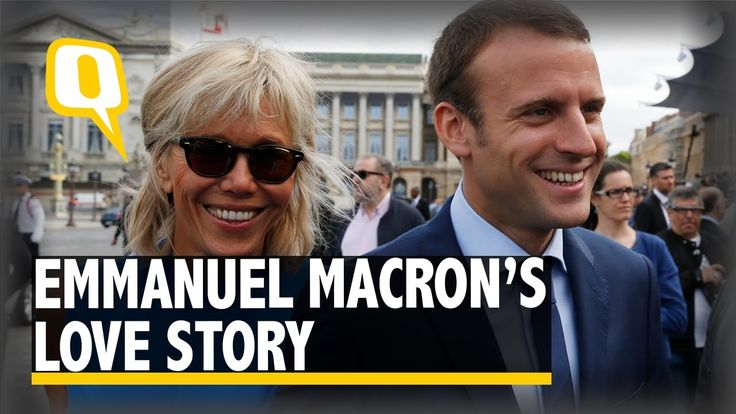 The Quint: Emmanuel Macron and His Wife Brigitte's Love Story is One for...