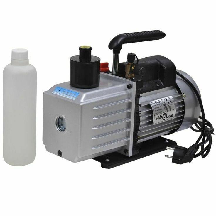 vidaXL Pompe à vide simple étage 100 l//min pour systèmes de réfrigération